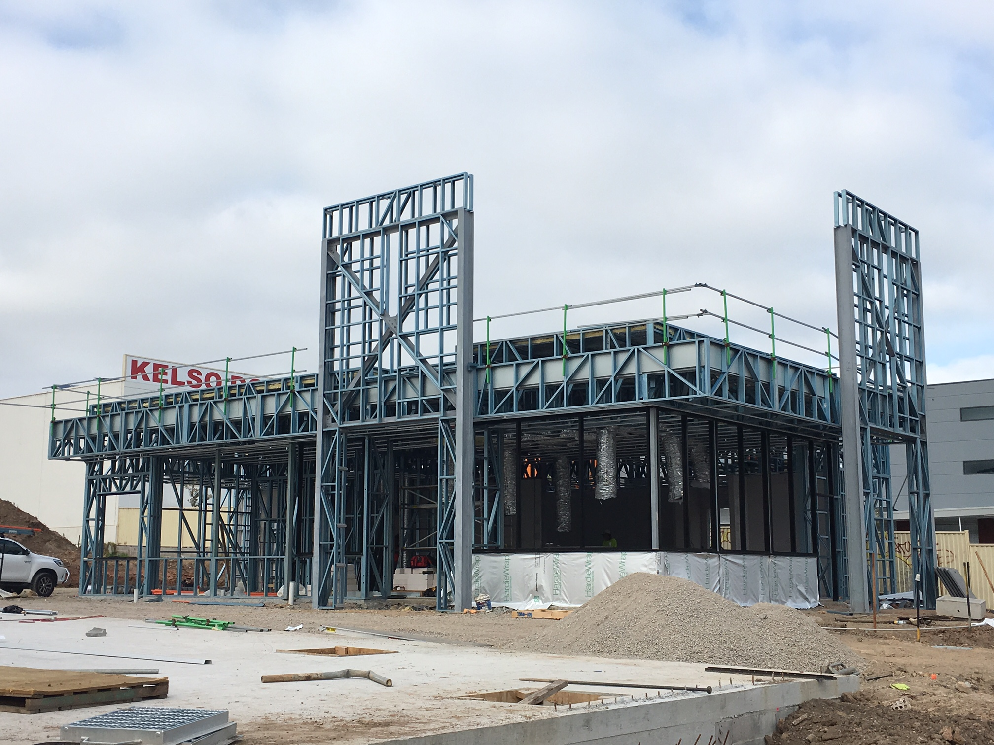 Oporto Store - Steel framing the ideal choice!