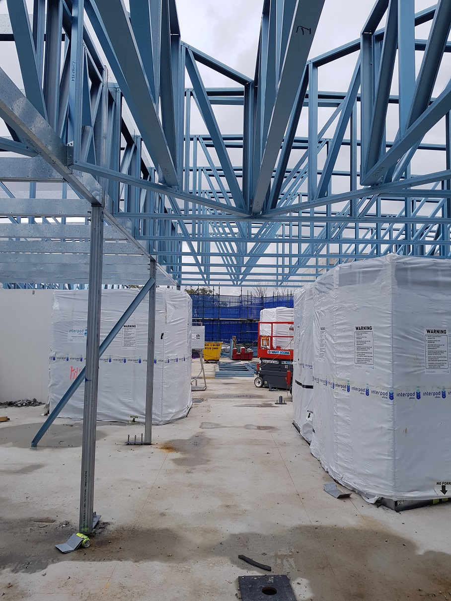 Steel Framing for Opal Aged Care Blacktown