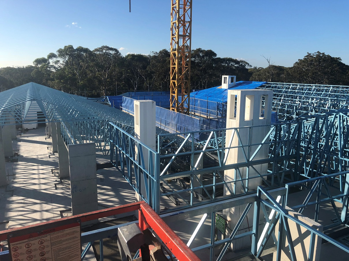Steel Framing Project - John Paul Village Aged Care