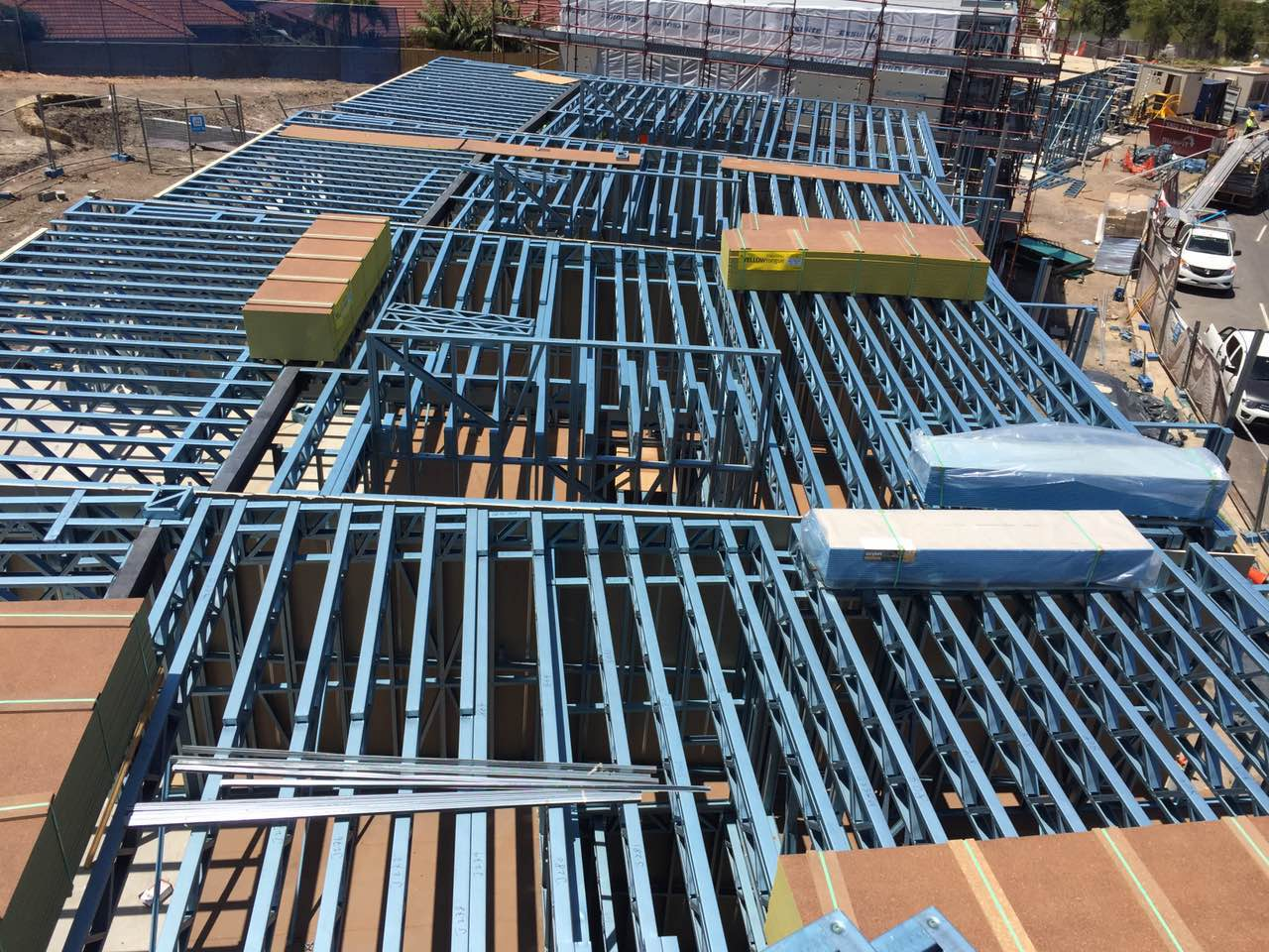 15 Townhouse Complex, Putney NSW - Steel Frames